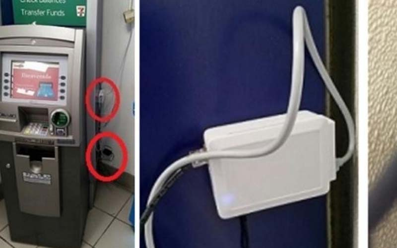 ATM陷阱又升級了!完全不用碰卡槽,就能直接偷到你的密碼資料!!提款時看到這個東西一定要小心!請轉發讓多人知道!!  -