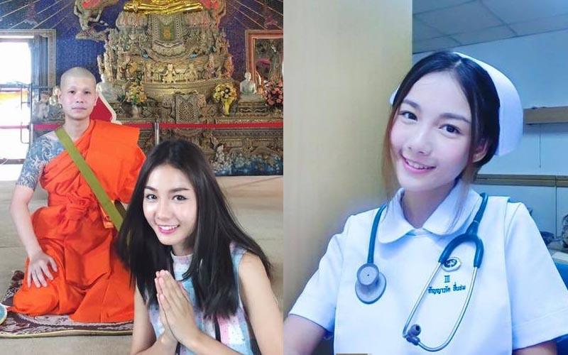 泰國超人氣正妹小護士,甜美的小梨渦笑容電得網友們直呼:連心都療癒了 .. - 第1頁