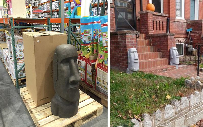 這很潮?「買COSTCO摩艾石像的人到底在想啥」PO文發問意外釣出一堆買家!:石敢當的概念