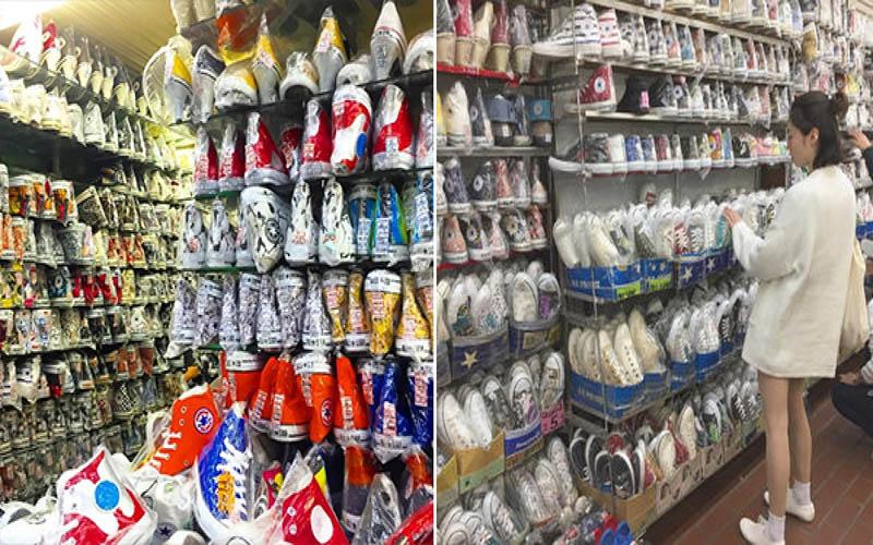 4坪半小店卻有5000多雙鞋!傳說中的「日本 Converse 聖地」網友大推:任你挑到爽!